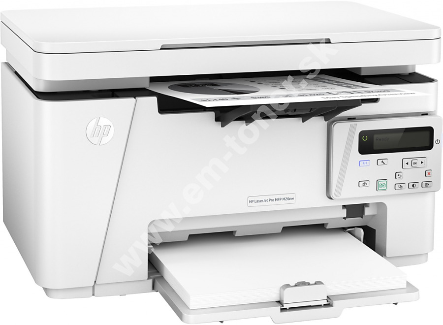 5f0f05bb3 Tlačiareň multifunkčná HP LaserJet Pro MFP M26nw (T0L50A) biela farba